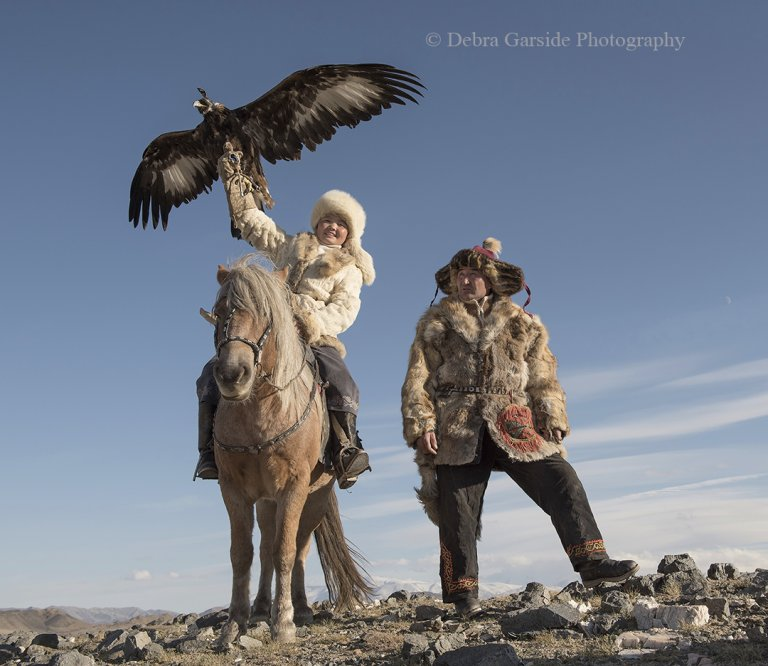 Eagle Huntress & Father