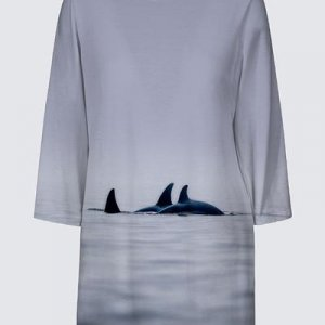 Orca Family Tunic Top