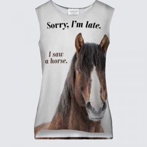 I Saw a Horse - Tank Top