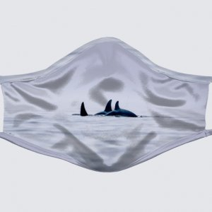 Orca Family Face Mask