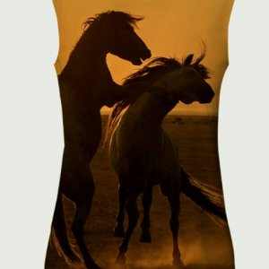 Mongolian Sunrise Tank Top