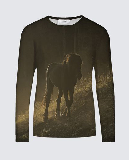 Dark Horse Men's LS T-Shirt