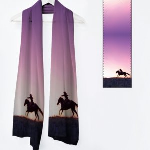 Cowgirl Up! - Fine Art Scarves